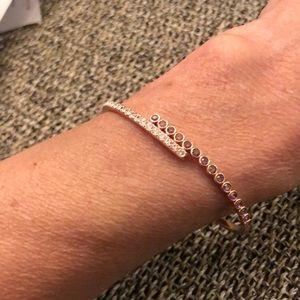 NWOT Adore bracelet with Swarovski crystal